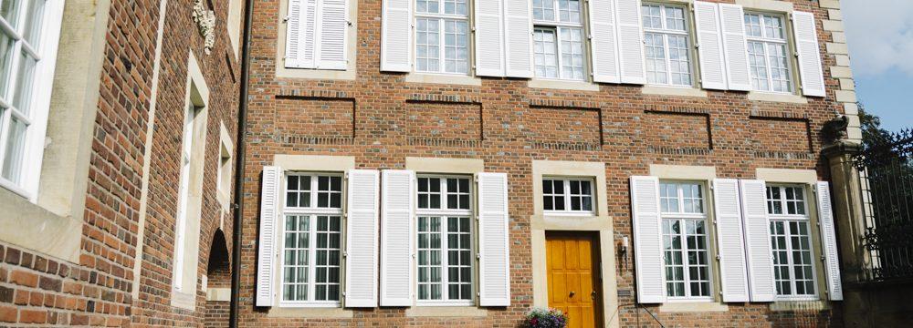 Gewände Tür Fenster Steinmetz Baumberger Sandstein Naturstein Havixbeck Münsterland Restaurierung
